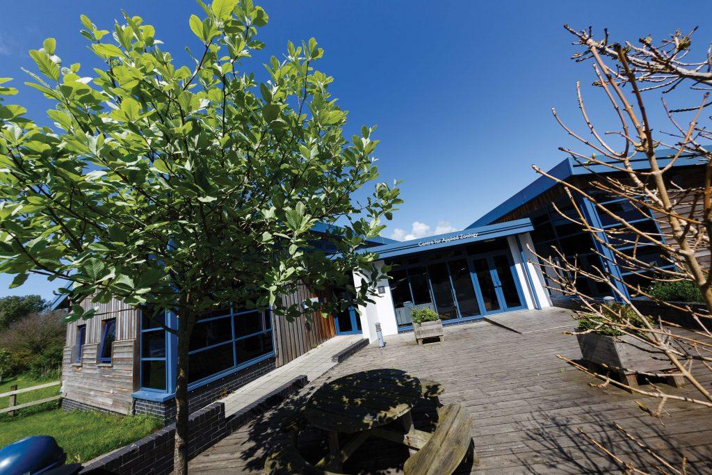Main reception at Newquay campus